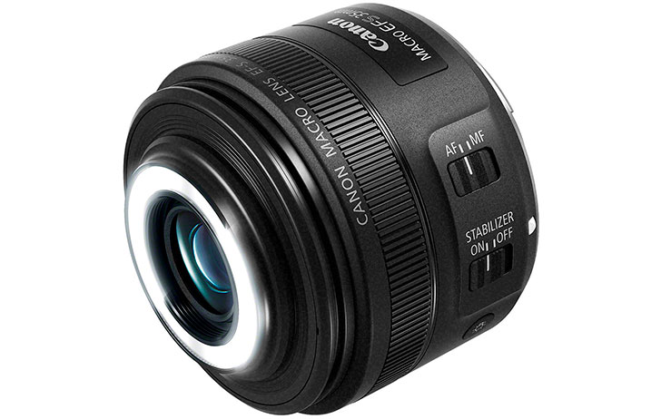 Deal: Refurbished Canon EF-S 35mm f/2.8 Macro IS STM $237 (Reg $349)